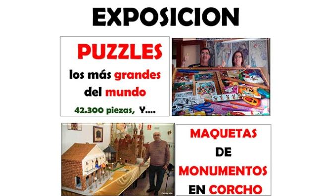 Exposición de los Puzzles Más Grandes del Mundo y Maquetas de Monumentos en Alfaro