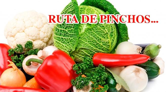 Ruta de pinchos de las XXIII Jornadas Gastronómicas de la Verdura