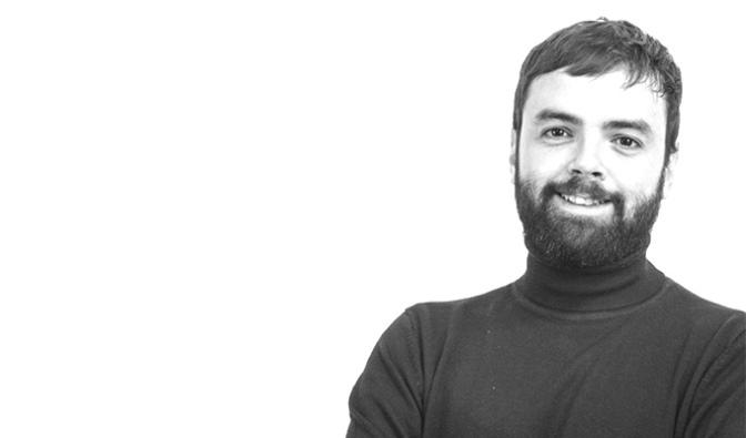 """Sergio García de Pablo en las charlas """"Calagurritanos por el mundo"""" del PSOE de Calahorra"""