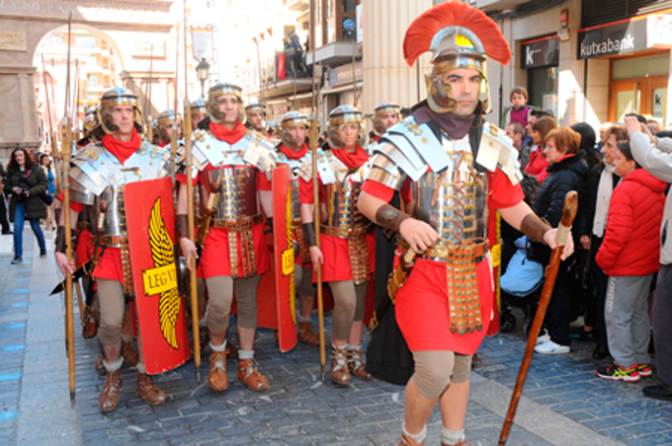 Actos previos a la Semana Santa de Calahorra para esta semana que culminará con el Mercaforum