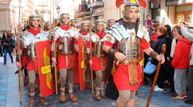 Calahorra regresa a su pasado romano