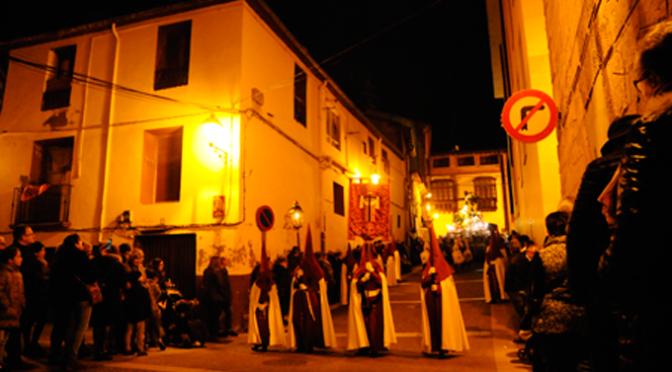 Viernes Santo, magna procesión en Calahorra