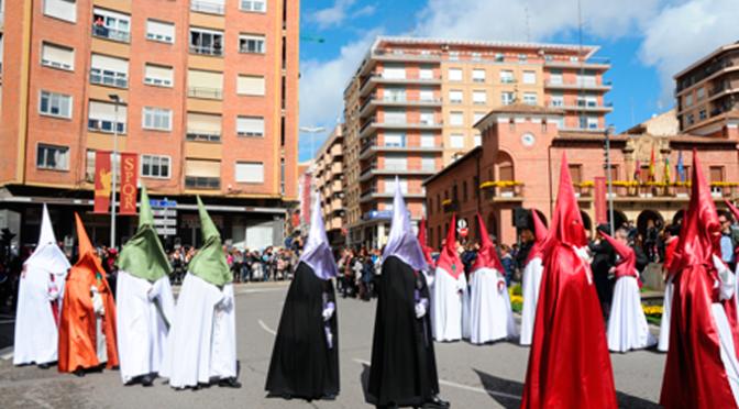 Procesión del Encuentro en Calahorra