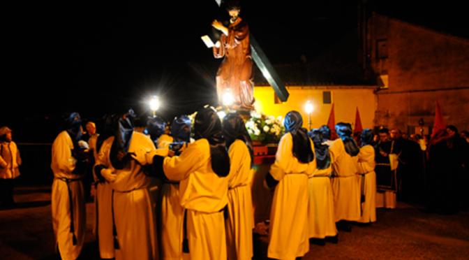 Vía Crucis procesional en Calahorra y Concierto de la Banda Municipal de Música