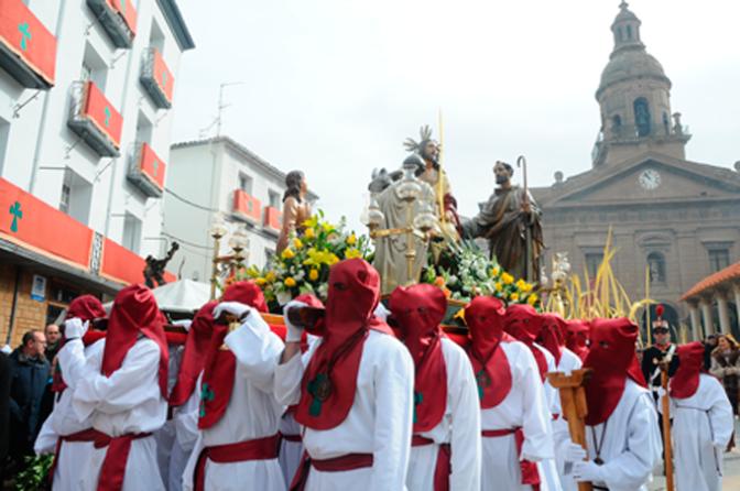 Domingo de Ramos en Calahorra y Segunda jornada de la Calahorra romana