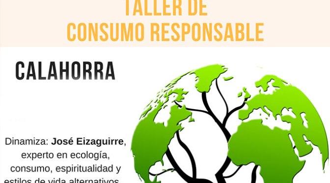 """Taller de consumo responsable titulado """"Consumir con cuidado, vivir sin dañar"""""""