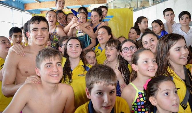 Más de 250 nadadores de ocho clubs diferentes en el VIII Trofeo Nassica Calahorra