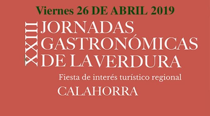 La IX Pasarela de moda, protagoniza los actos para hoy de las XXIII Jornadas Gastronómicas de la Verdura