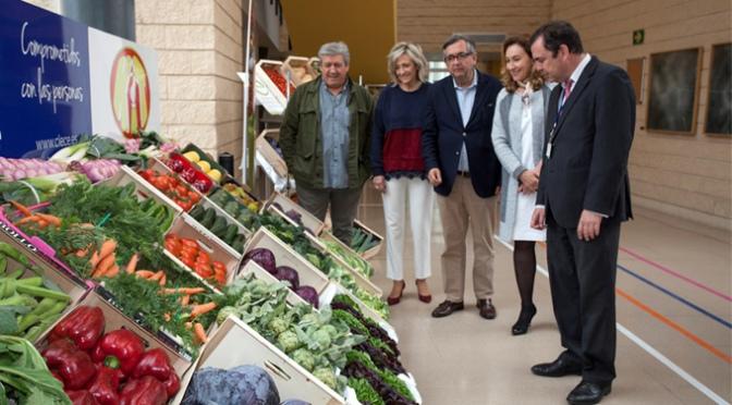 Fundación Hospital de Calahorra celebra las Jornadas de la Verdura con numerosas actividades