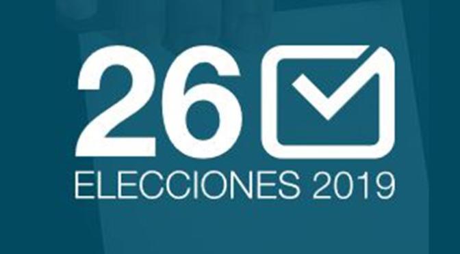 Resultados elecciones municipales del 26 de mayo en nuestras localidades
