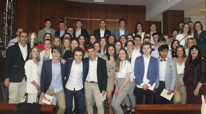 Despedida de los alumnos de 2º de Bachillerato de Teresianas
