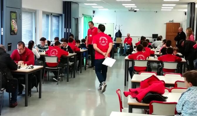 Ayer se disputó el último torneo puntúable de ajedrez del circuito escolar CCA en Autol