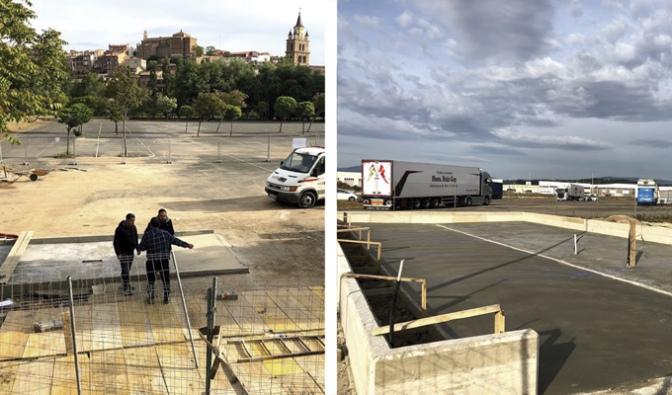 Comienzan las obras de construcción de un centro de acogida temporal de animales y del área para autocaravanas