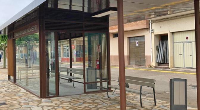 La nueva terminal de autobuses de Rincón de Soto ya está en funcionamiento