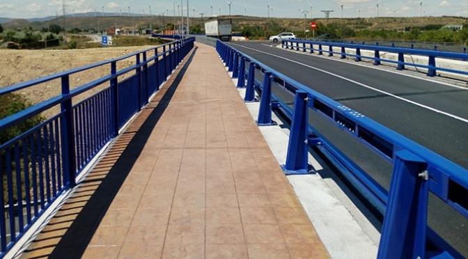 El Gobierno de La Rioja ha terminado las obras de reparación de los pasos superiores de la LR-134 sobre la carretera N-232 y la autopista AP-68 en Calahorra