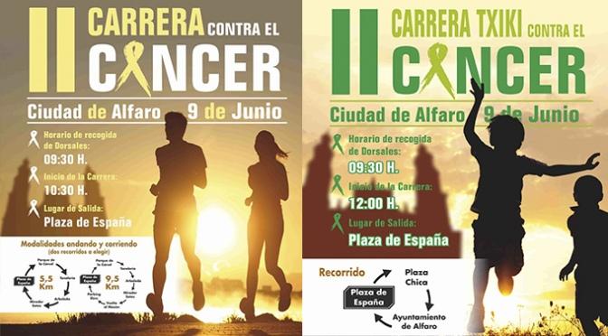 II Carrera contra el cáncer Ciudad de Alfaro