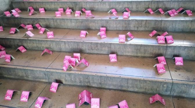 Campaña de limpieza urbana en Calahorra contra los chicles