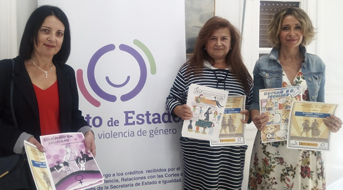 La calagurritana Ainhoa Virto ha ganado el primer Concurso de Cómic contra la violencia de género