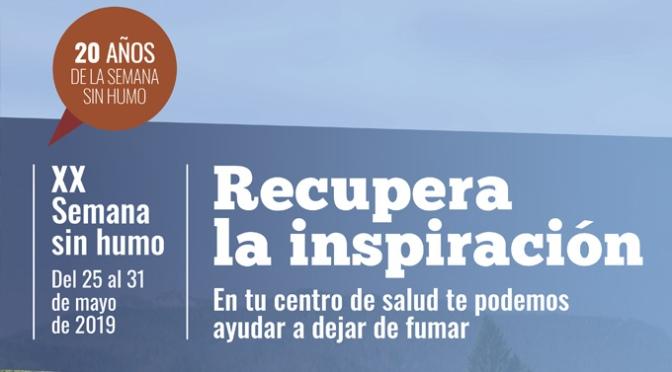 La XX Semana sin Humo se celebra en La Rioja bajo el lema 'Recupera la inspiración