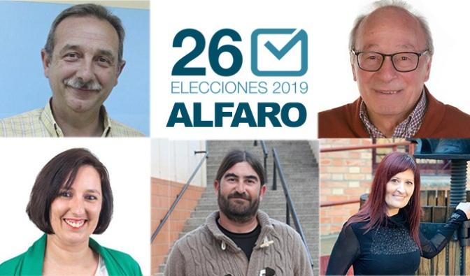 Elecciones 26M en Alfaro