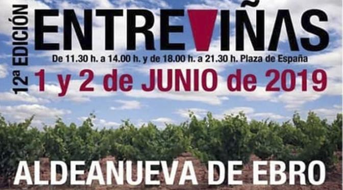 Todo preparado en Aldeanueva de Ebro para que de comienzo Entreviñas 2019