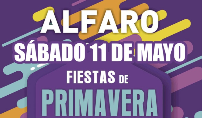 Programación para hoy sábado de las Fiestas de Primavera de Alfaro