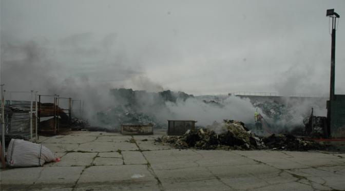 Esclarecido el incendio acontecido en enero en la planta de reciclaje de Pradejón