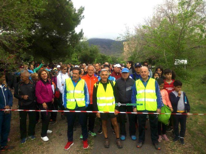 Cerca de 700 personas en la XVIII Marcha de la Vía Verde del Cidacos
