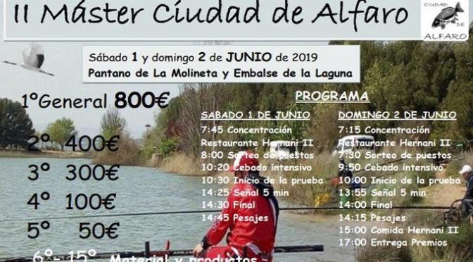 II Máster de pesca Ciudad de Alfaro