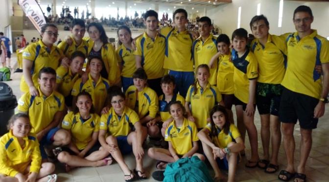El CN Nassica vivió una intensa jornada  en las piscinas del Adarraga en Logroño
