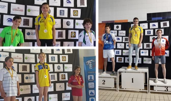 El CN Nassica natación en el XXVII Trofeo de Natacion Ciudad De Huesca