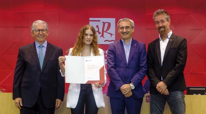 La calagurritana Paula Ezquerro Abad, Premio al Mejor Expediente del Grado en Ingeniería Informática