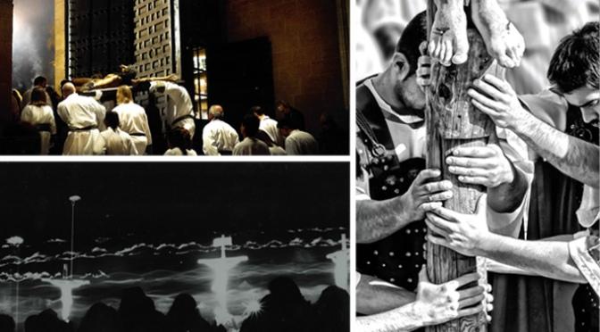"""Luis Javier Martínez, primer premio del VIII concurso fotográfico """"La Semana Santa de tu localidad"""" de Hiper Eroski"""