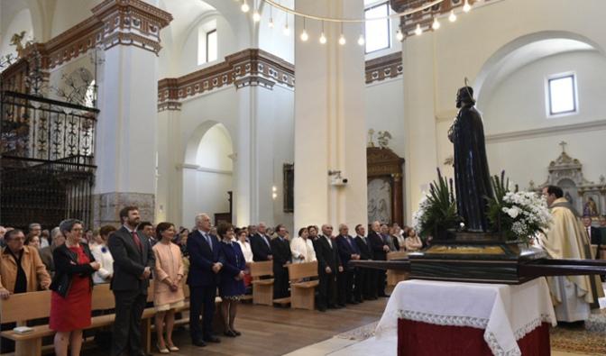 José Ignacio Ceniceros participará hoy en Alfaro en  la festividad de San Isidro