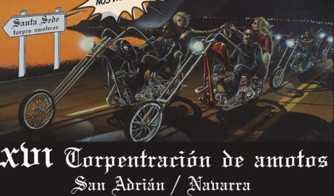 "Concentracion de ""Amotos"" este fin de semana en San Adrián"