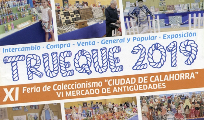 """XI Feria de coleccionismo """"Ciudad de Calahorra"""" y VI Mercado de antigüedades"""