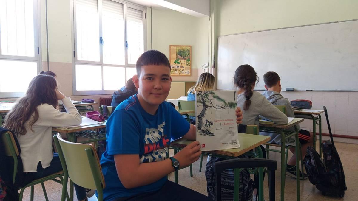 El alumno del IES Marco Fabio Quintiliano (sección Pradejón) Iván Jiménez, representará a La Rioja en el XI Foro Juvenil del Patrimonio Mundial