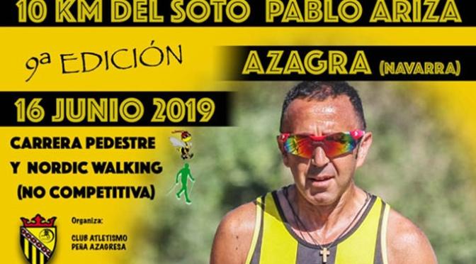 9ª Edición de los 10 Km del Soto Pablo Ariza
