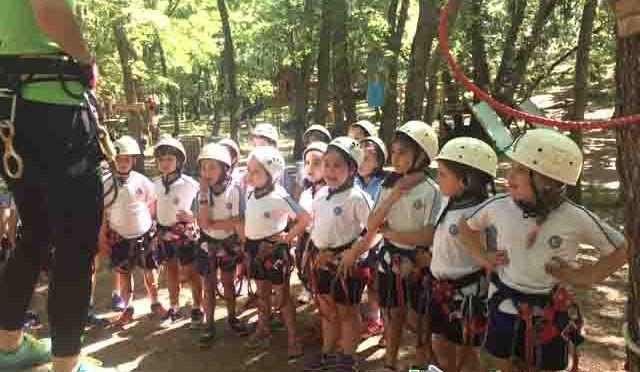 Continuan las excursiones en el Colegio La Milagrosa