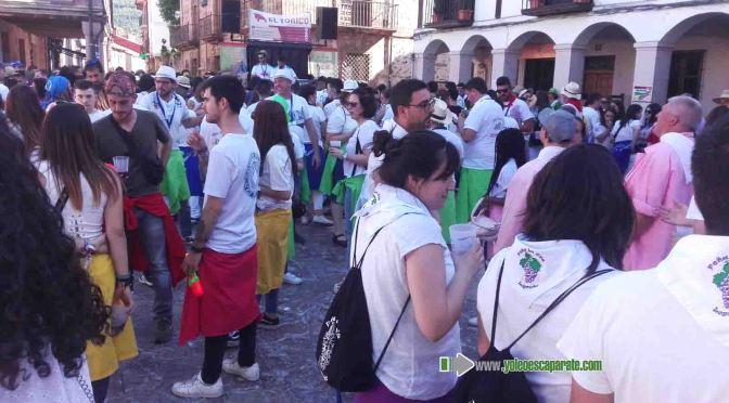 Concentración de peñas riojanas en Ezcaray