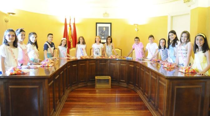 Nueva corporación infantil de San Adrián para las próximas fiestas patronales de la localidad