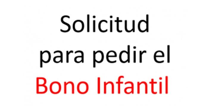 Hoy comienza el plazo para solicitar el programa de ayudas Bono Infantil para alumnos de 0 a 3 años