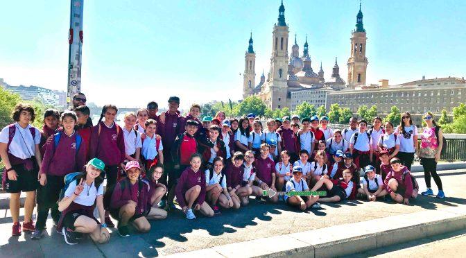 Los alumnos de Agustinos visitan en Campo Activo y el parque de atracciones de Zaragoza