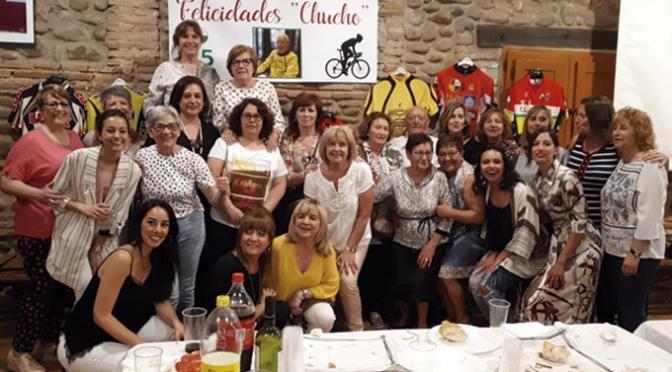 "Homenaje de la Sociedad Ciclista Calagurritana a  Jesús Rodríguez, ""Chucho"""