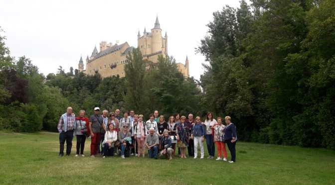 La Asociación Peregrinos del Señor Santiago de Galicia de viaje en Segovia y Madrid