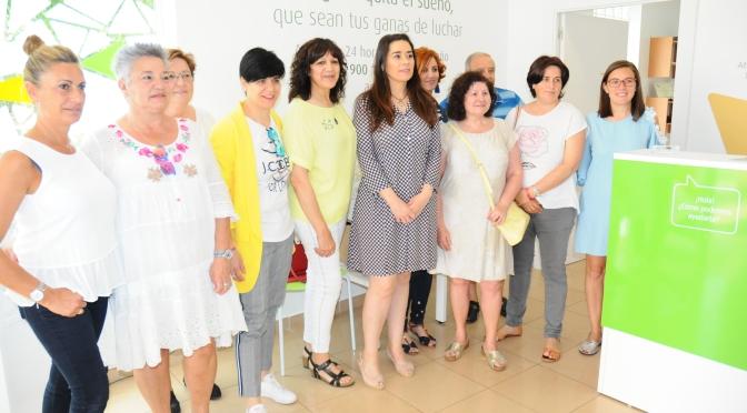La Junta local de la AECC de Calahorra estrena nueva sede