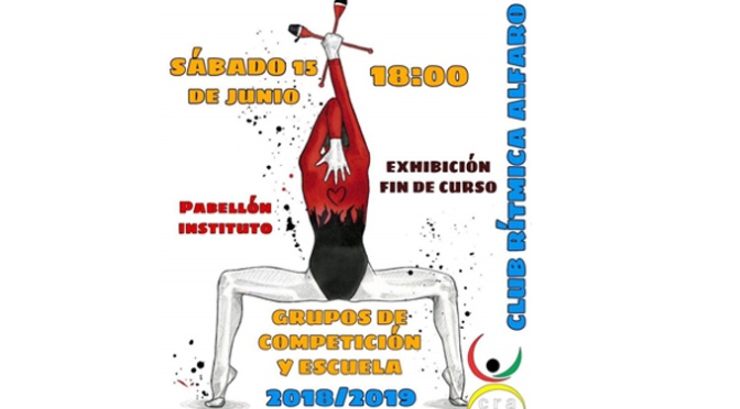 Exhibición de Fin de Curso del Club Rítmica de Alfaro