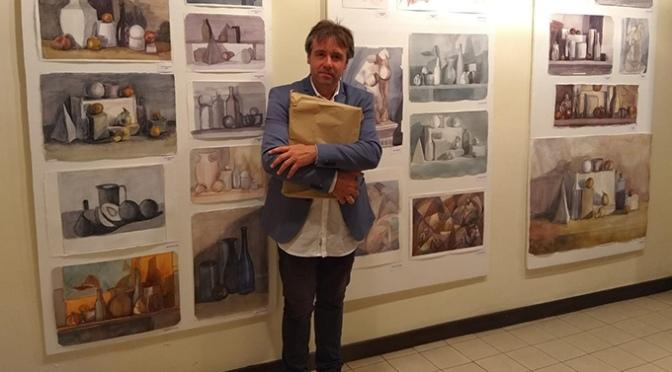 EXPOSICIÓN de los trabajos de los cursos del Centro Cultural Deán Palacios