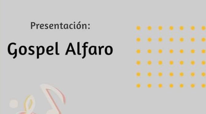 Concierto de presentación del nuevo grupo de Gospel Alfaro