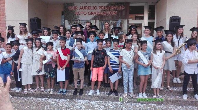 Graduacion de los alumnos de 6º de Primaria del C.E.I.P. Aurelio Prudencio